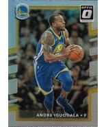 Andre Iguodala Donruss Optic 17-18 #50 Silver Prizm Golden State Warriors - $1.25