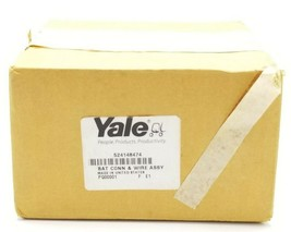 FACTORY SEALED YALE 524148474 BATTERY CONNECTOR & WIRE ASSEMBLY PQ00001