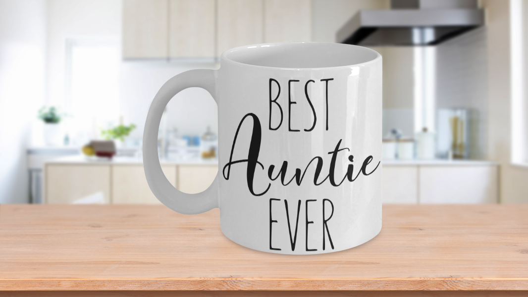 Primary image for Best Anutie Ever Mug Gift For Favorite Special Aunt Birthday Valentine Cup Coffe