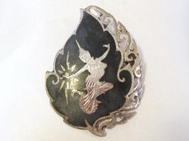 Antique vintage sterling silver Siam Pin/brooch - $45.00
