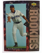 ALEX RODRIGUEZ 1994 UPPER DECK STAR ROOKIES RC RARE SP NEW YORK YANKEES  - $14.99