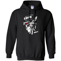 Siberian Husky Cool Men Clothes You Can Rescue Awesome Black Navy Color ... - $39.55