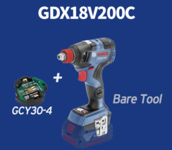 Bosch GDX 18V 200C 2-in-1 EC Brushless 147mm 200Nm 3400rpm GCY30-4 / Bare Tool image 1