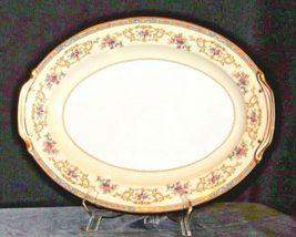 Noritake China Large Serving Platter Japan (Colby Pattern # 5032) AA19-1491 Vin image 4