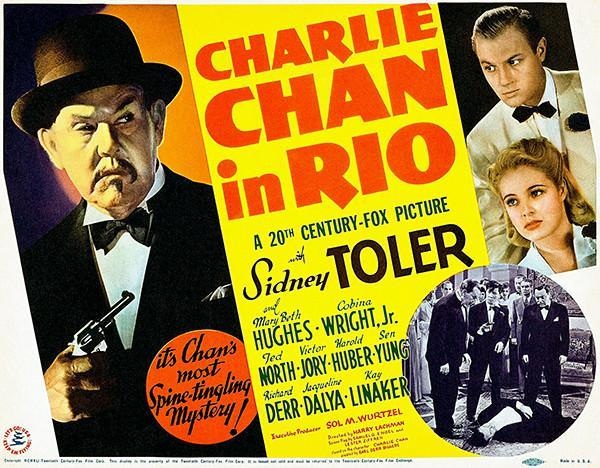 Primary image for Charlie Chan In Rio - 1941 - Movie Poster