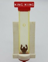 MEGO 1976 King Kong Climbing Twin Towers Plastic Drinking Straw Complete... - $98.88