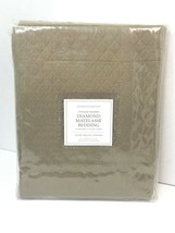 Restoration Hardware Vintage-Washed Diamond Matelasse Sham Standard Prairie $59 - $37.99