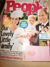 PEOPLE MAGAZINE JULY 27 2015 THE ROYAL FAMILY PRINCE WILLIAM GEORGE BRAN... - $9.99