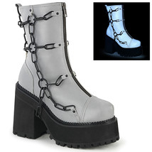 Demonia ASSAULT-66 Women's Ankle Boots GYREFLVL - $111.95
