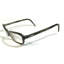 Tory Burch Clear Dark Red Gold Arms Logo Cats Eye Eyeglass Frames TY2035... - $37.40