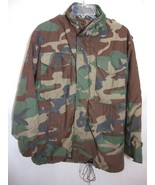 USA Military PARKA Camouflage Field Coat Cold Weather Jacket ARMY CAMO M... - $59.40