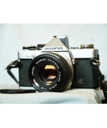 Olympus OM-2N Professional 35mm SLR Camera c/w 50mm Lens -Working- Tested- - $140.00