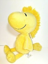 "Kohls Cares Stuffed Plush Woodstock 12"" Yellow Bird 2013 Peanuts Gang Snoopy EUC - $16.82"