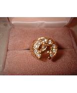 Lucky Horseshoe Ring Bargain Bin Under $10.00 - $5.99