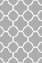 PREMIUM 3D Hand Carved Modern 3x5 4x6 Rug Contemporary 4518 Gray Grey - $75.00