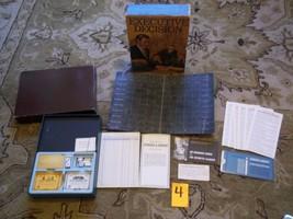 Vintage 1971 Executive Decision The Business Management Board Game Bookshelf 3M - £9.35 GBP
