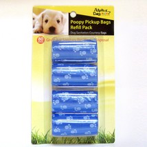 Alpha Dog Series Poopy Pick up Bags Refill Pack 80BAGS - BLUE (Pack of 12) - $36.00