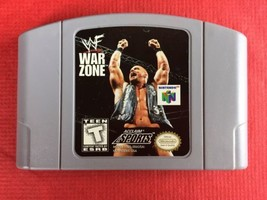 WF War Zone - Nintendo 64 (N64) - Video Game - *Game Only* - $3.95