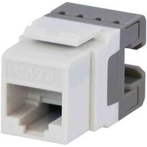 DataComm Electronics 20-3426-WH-10 CAT-6 Jacks, 10 Pack (White) - $45.22