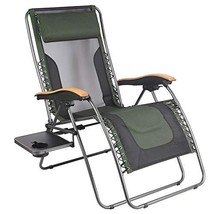 PORTAL Oversized Mesh Back Zero Gravity Recliner Chairs, XL Padded Seat ... - $161.49