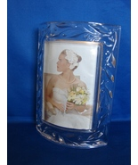 Mikasa Crystal Curved Picture Frame, 3 x 5 Crystal Celebrations Frame - $12.00