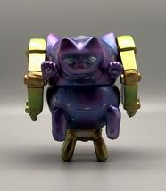 2-Sided Metallic Mecha Cat image 2