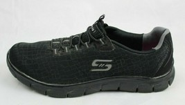 Skechers women's shoes relaxed fit air cooled memory foam black size US 9.5 - $22.67