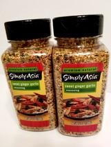Simply Asia SWEET GARLIC GINGER Seasoning Spice Lot of TWO (2) 12 oz Bot... - $31.18