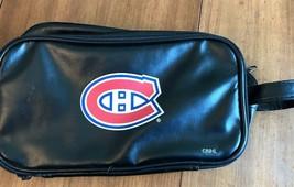 MENS NHL Shaving Accessory Travel Bag Montreal Canadiens  - $34.64