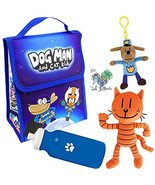 Dav Pilkey Dog Man Cat Kid Back to School Large Insulated Lunch Bag Set ... - $54.99