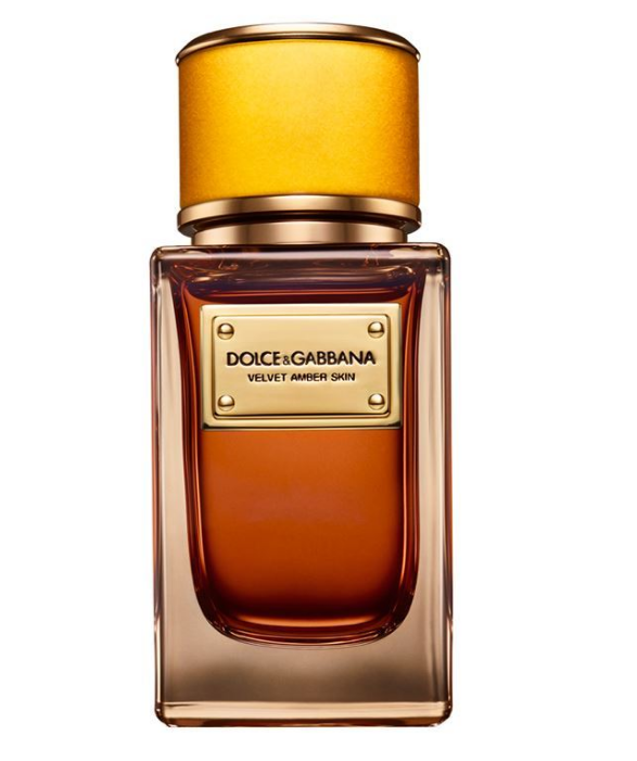 AMBER SKIN by DOLCE & GABBANA 5ml Travel Spray PERFUME TOLU OPOPONAX VELVET