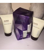 (x2) AHAVA DEAD SEA WATER MINERAL BODY LOTION & HAND CREAM GIFT SET 1.3 ... - $17.28