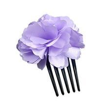 Elegant Purple Peony Coiled Up Hair Hair Accessories/Hair Pins