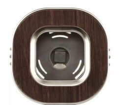 Bath Body Works Square Wood Grain Scentportable Car Air Freshener Vent Clip - $8.68