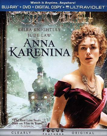 Anna Karenina [2012]--DVD + Digital Copy Only***Please Read Full Listing***