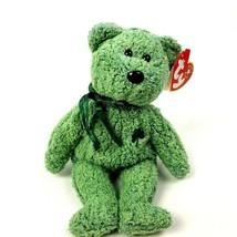 Ty Beanie Babies Shamrock Teddy Bear 2000 Clover St. Patricks  - $6.93