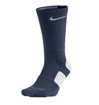 NIKE Elite Cushioned Basketball Crew Socks sz S Small (4-6) Midnight Navy White - $26.99