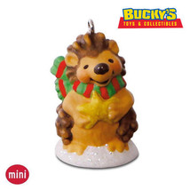 """Quill"" You Be My Snow Buddy? 2016 Hallmark MINI Ornament Porcupine Wint... - $12.81"