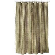 Threshold Yellow Circle Shower Curtain Gold, Brown White - $14.84