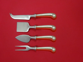 Williamsburg Shell by Stieff Sterling Silver Cheese Serving Set 4 Piece Custom - $409.00
