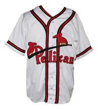 Custom Name # New Orleans Pelicans Baseball Jersey 1940 White Any Size image 4