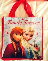 Disney Frozen Sisters Elsa and Anna Reusable Tote Gift Bag  NEW!  Last One - $6.25