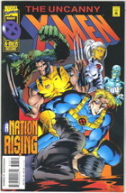 The Uncanny X-Men Comic Book #323 DELUXE Marvel 1995 NEAR MINT NEW UNREAD - $2.99