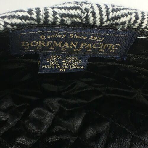 DORMAN PACIFIC DPC Gatsby Newsboy Cabbie Hat Cap Herringbone Wool Blend Medium image 10