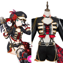 Love Live!Aqours Kurosawa Dia Punk Rock Cosplay Costume Dress Outfit - $25.00+