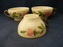 3 Franciscan Desert Rose Cups NO Saucers  Very Good Gently Used Condition - $9.95
