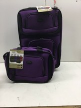 U.S. Traveler US5600L Rio Carry-on Rolling Luggage Suitcase. New - $43.53