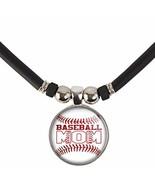 SpotlightJewels Baseball Mom Glass 3D Dome Pendant Necklace - $18.99