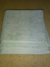 Threshold Forgotten Sage Hand Towel  13'' x 13'' --- new with tag. image 2