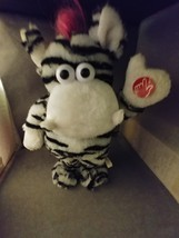 """DanDee Collector's Choice Animated Zebra Plush Sings """"I am Sexy and I Kn... - $11.50"""